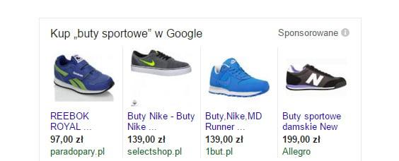 Adwords - reklama produktowa