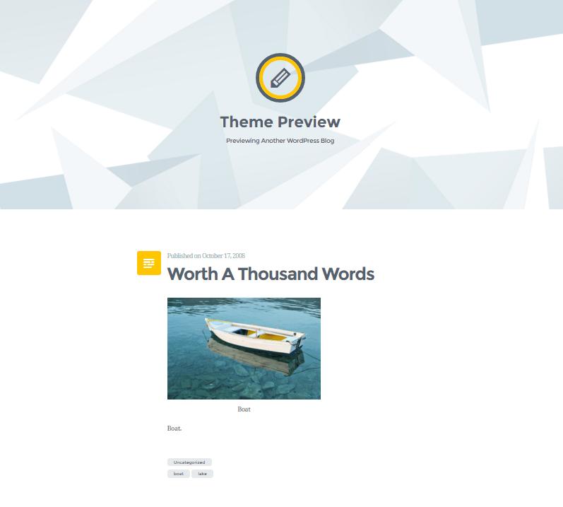 Widok ekranu - Szablony WordPress - Nulis