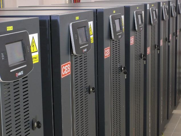 Zasilacze awaryjne UPS w centrum danych Kei.pl
