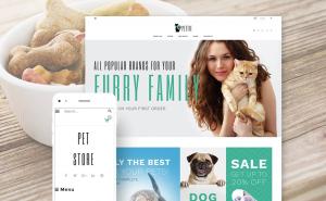 Szablon WordPress  dla sklepu internetowego