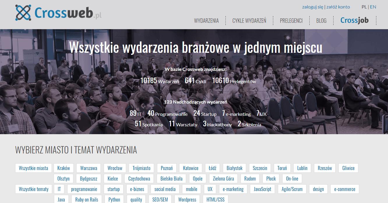 Crossweb.pl. Strona internetowa