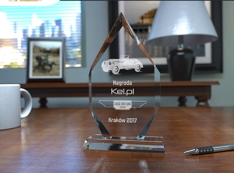 Nagroda publiczności podczas Classic Moto Show