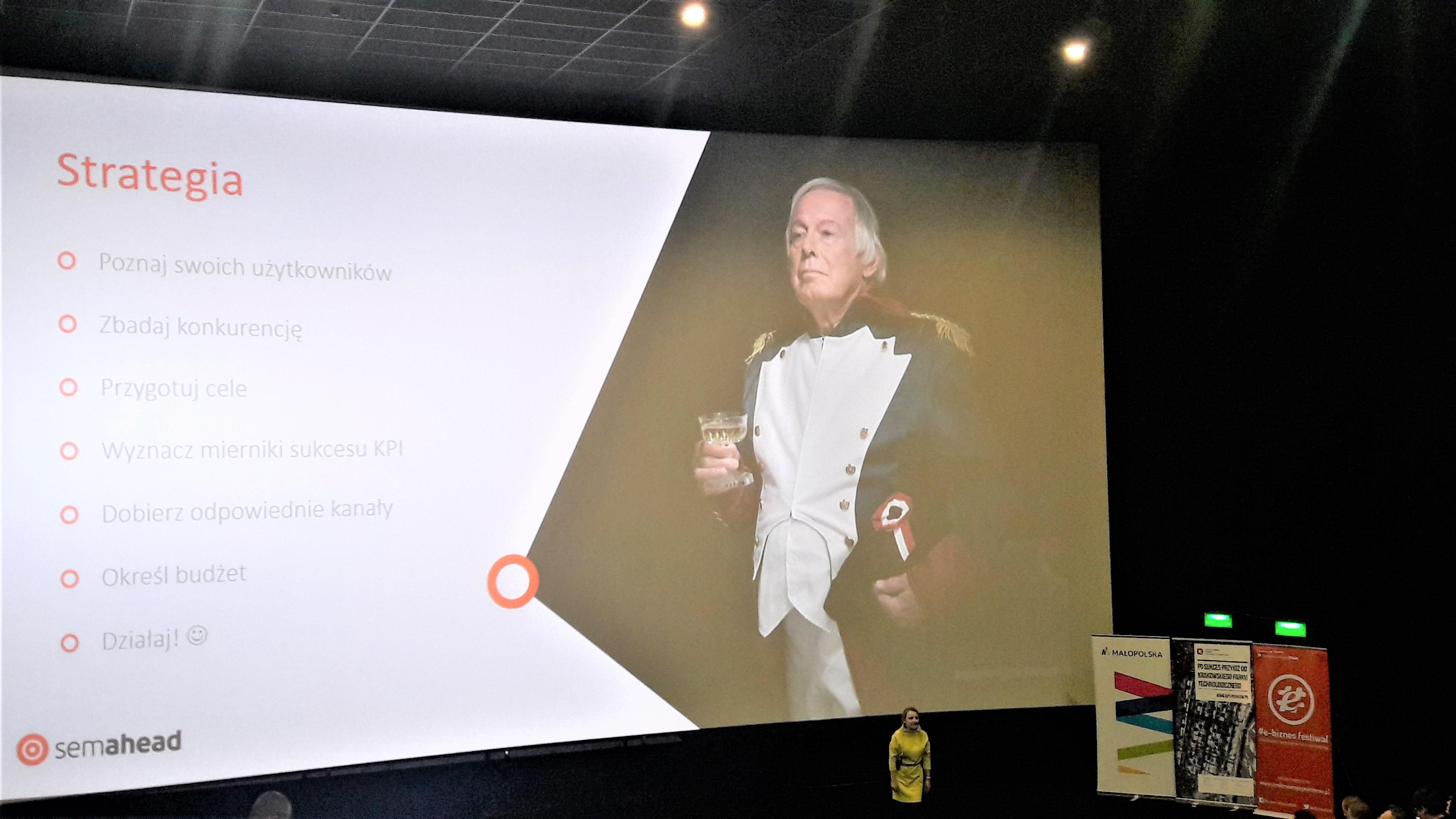 występienie semahead podczas ebiznes 2017