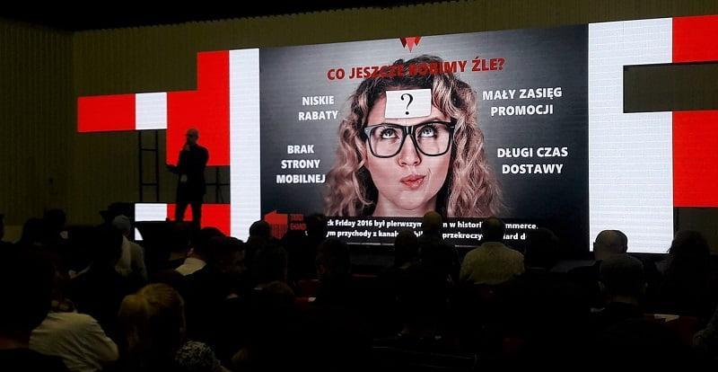 Prezentacja Grzegorza Pawelca z kei.pl podczas targów ehandlu