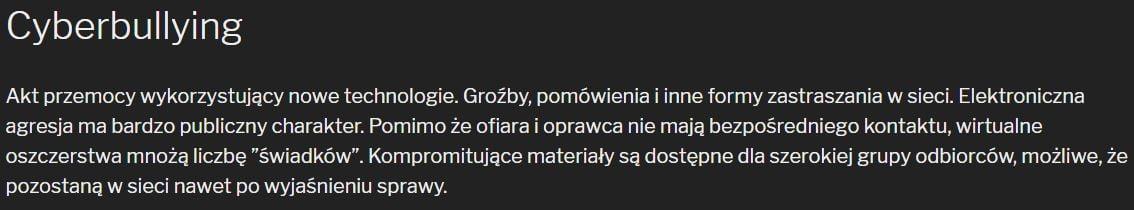 Cyberbulling Kei.pl