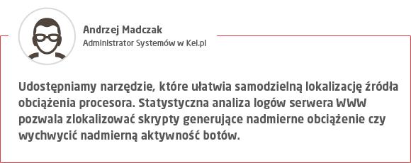 Jak sprawdzić obciążenie serwera? Kei.pl