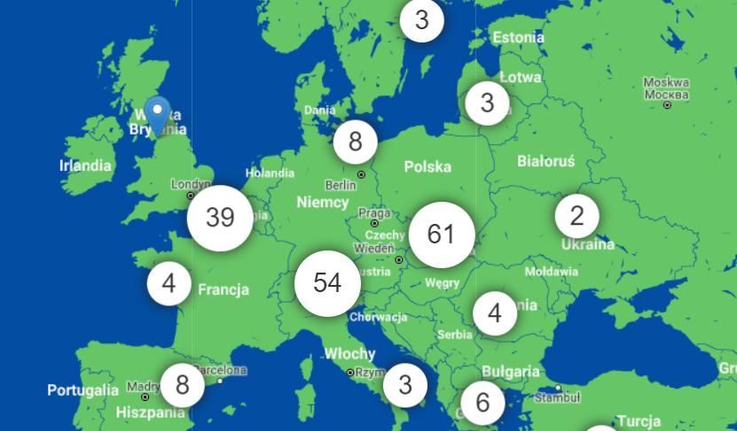 Europejki miesiąc cybrbezpieczeństwa w krajach Europy