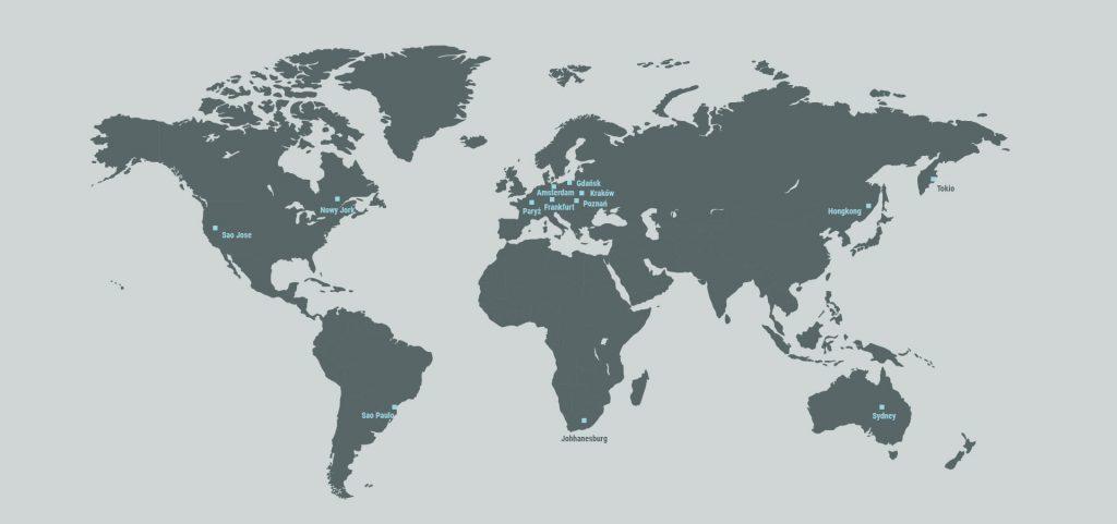 Mapa DNS Anycast Kei.pl