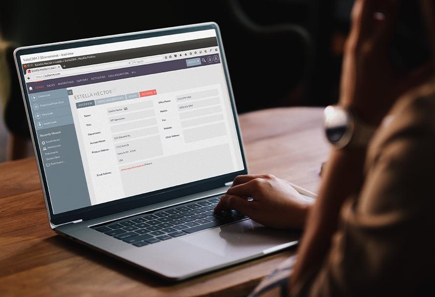 SuiteCRM - rozwiązania dla biznesu